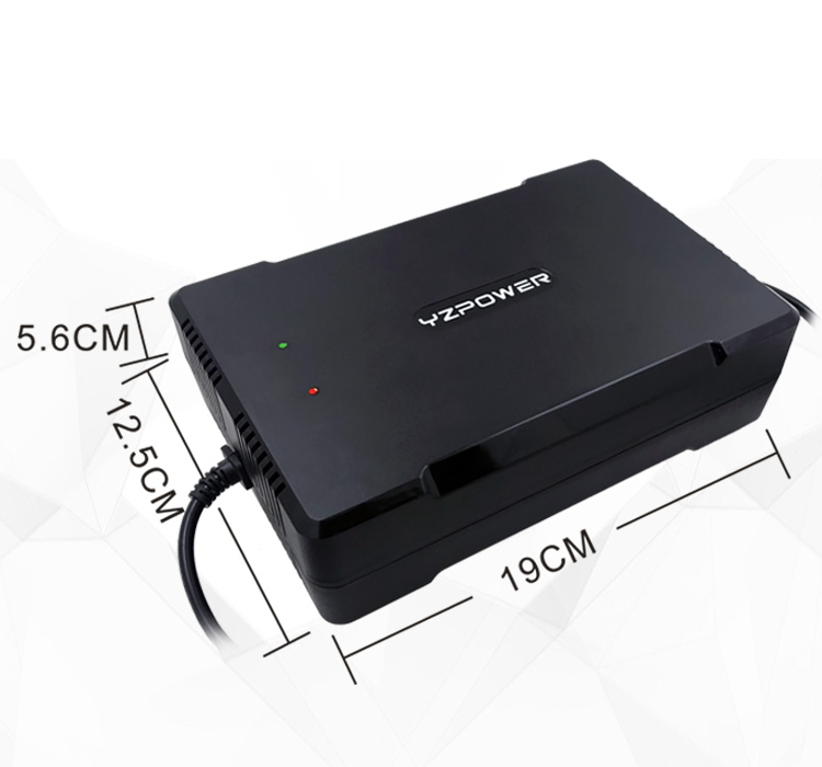 84V 4A Lithium Waterproof Battery Charger for 72V 20S Li ion Charger