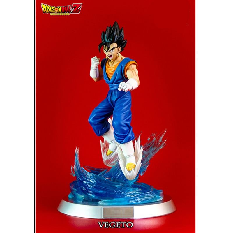 "New Dragon Ball Z Japanese Anime Super Saiyan Vegeta 9/"" Statue Figure Model Toy"