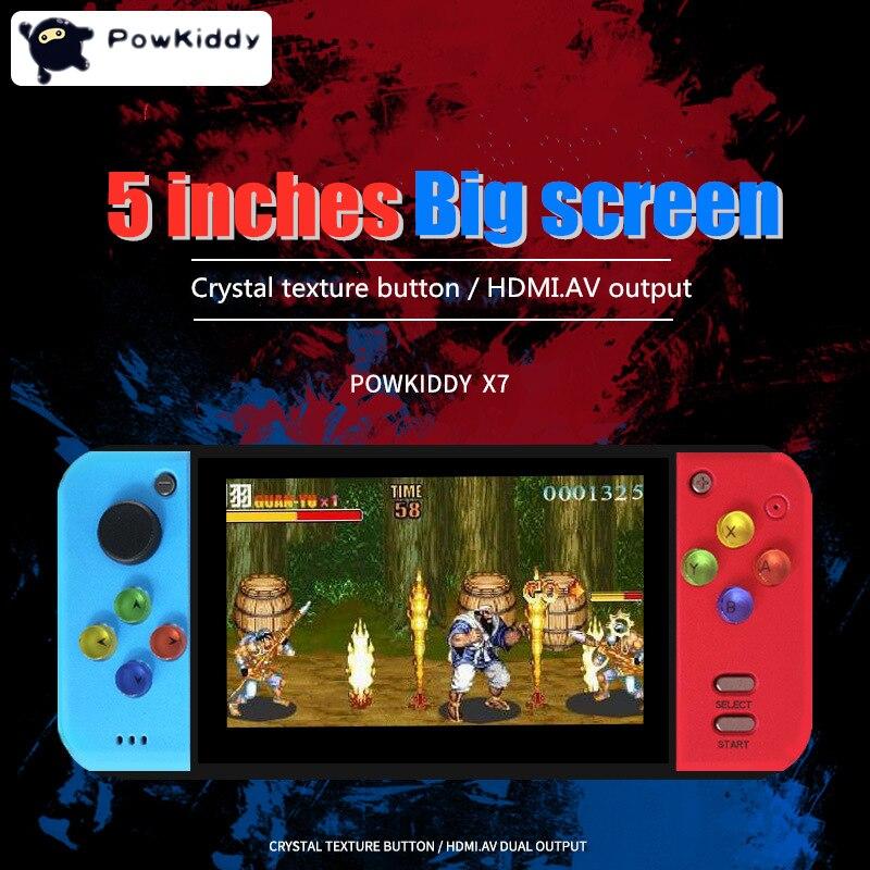 PSP משחק ניידות ארקייד קונסולת 40GB 5.0 אינץ MP5 משחק וידאו נגן מובנה 3000 רטרו קלאסי משחק עבור SNE / GBA / SFC / SMD / ZIP PSP (2)