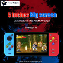 Retro Game 5.0 inch Video Game Console 40GB Handheld Game Player Built-in 3000 Classic Arcade Games for SNE/GBA/SFC/SMD/ZIP PSP yoteen portable retro mini handheld game console 4 3 inch 64bit 3000 video games classical family game console retro arcade