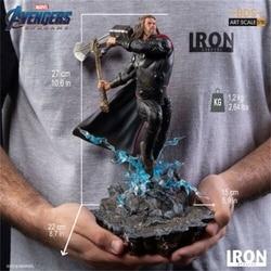 Iron Studios 1:10 Thor Statue Stormbreaker & Hammer The Avengers End Game Figure