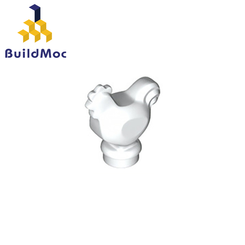 BuildMOC Compatible Assembles Particles  95342 Chicken Building Blocks Parts DIY LOGO Educational Creatives Gift Toys