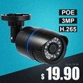 Камера Наружного видеонаблюдения H.265, инфракрасная светодиодная камера безопасности, водонепроницаемая, 3 Мп, 1296P/1080P, HD