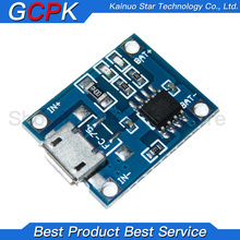 Lithium-Battery-Charging-Board Protection Micro-Usb 10pcs/Lot Charger-Module 1A Dual-Functions