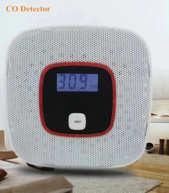 ZigBee Smart Home Smoke Detector Alarming Sensor Microwave / Infrared Detector