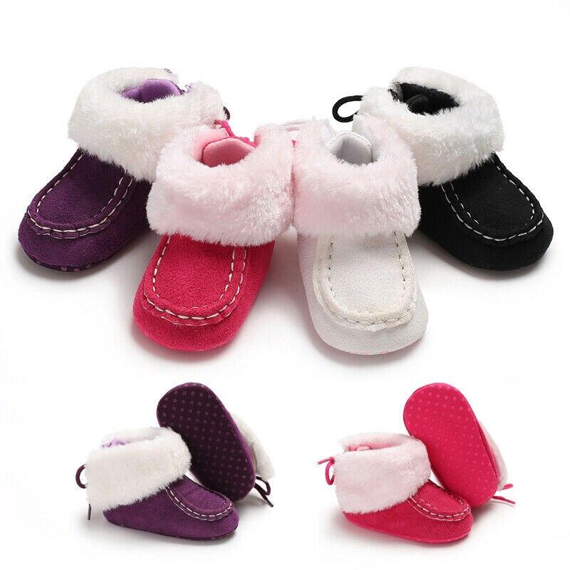 Baby Soft Crib Sole Warm Snow Boots