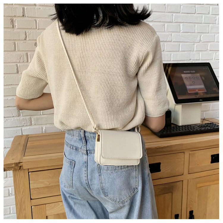 Five Colors Of SweetsRetro Mini Bags For 2020 Small Chain Handbag Small Bag PU Leather Hand Bag Ladies Shopping Bags (4)