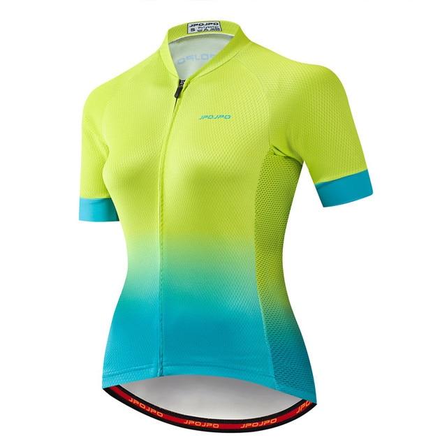 Weimostar pro equipe de ciclismo jérsei das mulheres verão mtb bicicleta camisa maillot ciclismo roupas secagem rápida 5