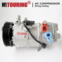PARA bmw e90 compressor BMW 3 E90 E91 64529182793 64526915380 64509156821 64509145351 CSE613C compressor de Ar condicionado bomba de ar condicionado