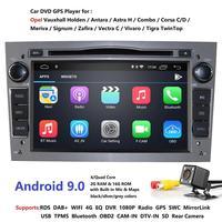 Android 9,0 2 ГБ + 16 ГБ Автомобильный DVD для Opel Vectra Antara Zefira Corsa, Meriva Astra 4Core радио GPS; Мультимедийный проигрыватель DVR SWC DTV DSP 4G
