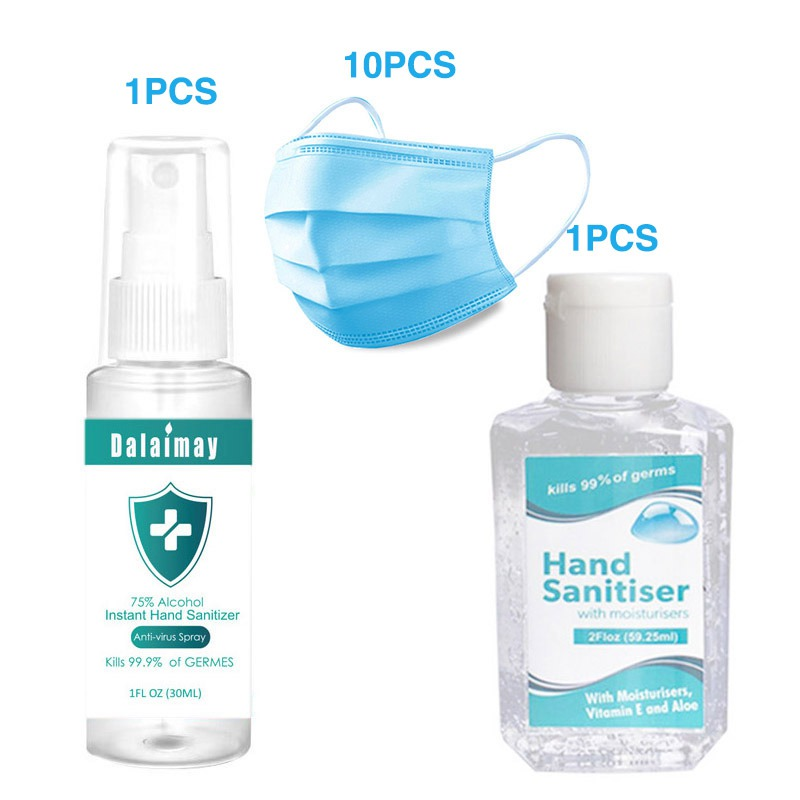 Kamay-free Hand Sanitizer Hand Sanitizer Portable Spray Disinfection At Disposable Mask