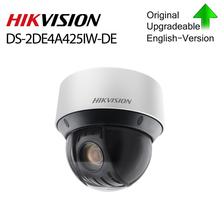 Hikvision Original PTZ IP Kamera DS-2DE4A425IW-DE 4MP 4-100mm 25X zoom Netzwerk POE H.265 IK10 ROI WDR DNR
