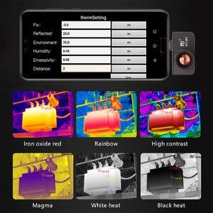 Image 3 - Termocamera HT 301 USB Termica A Infrarossi Imager Mobile Del Telefono Termica A Infrarossi Imager per Android Del Telefono di Tipo C
