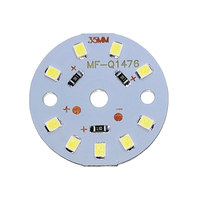 Chip de fonte led  5 peças um lote dc12v 3w 6w 9w 12w 15w 18w lâmpada led de alta potência smd2835  holofote luz para baixo