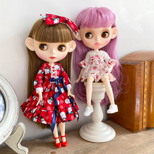 Blyth Doll Blyth Matte Face Frosted White Skin 1/6 BJD Ball Jointed Doll Hand Set Custom Dolls for Girl Gift for Doll Collection(China)