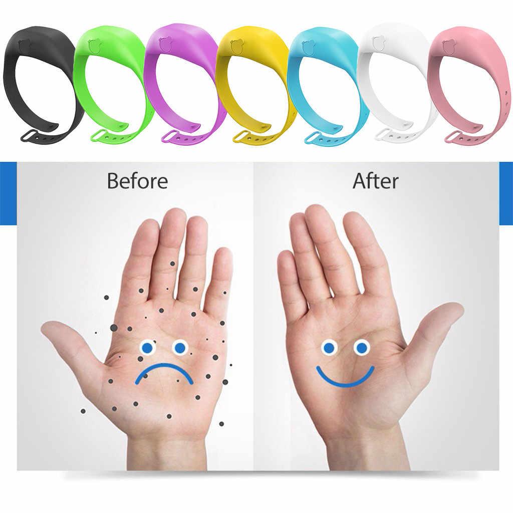 Volwassen Kid Vloeibare Polsband Hand Dispenser Handwas Gel Met Hele Sanering Verstelbare