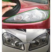 5M Car Rubber Sealing Strip Inclined T-shaped Weatherproof Edge Trim Universal