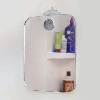 Lustra przeciwmgielne lustro prysznicowe łazienka Fogless przeciwmgielne lustro ubikacja Travel przenośne lusterko do golenia lustra ozdobne tanie i dobre opinie Liplasting CN (pochodzenie) Mirror