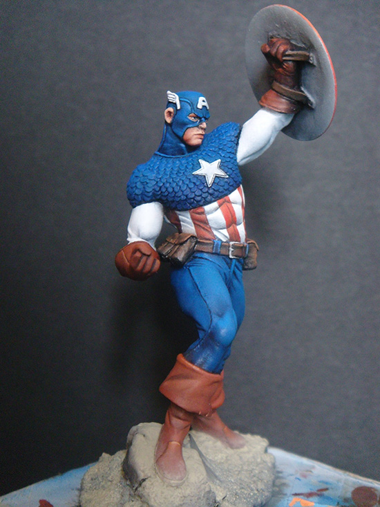 1/24 Fantasy Man With Base   Resin Figure Model Kits Miniature Gk Unassembly Unpainted