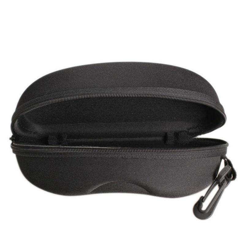 Zíper óculos de sol caso duro óculos de olho protetor caixa recipiente portátil fs99