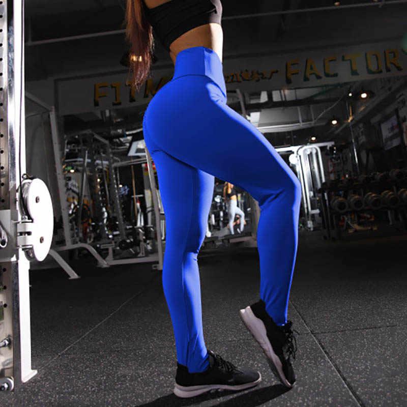 بلون رياضة لفافة ساق غير مخيطة Colorvalue اليوغا السراويل رفع ضيق اللياقة البدنية طماق رياضة المرأة تشغيل تجريب الرياضة طماق