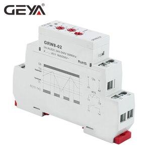 Image 4 - GEYA Din 레일 유형 가열 냉각 온도 제어 릴레이 (센서 포함) AC/DC24V 240V 16A 센서가있는 전자 릴레이