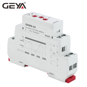 Image 4 - GEYA Din Rail Type Heating Cooling Temerature Control Relay with Sensor AC/DC24V 240V 16A Electronic Relays with Sensor