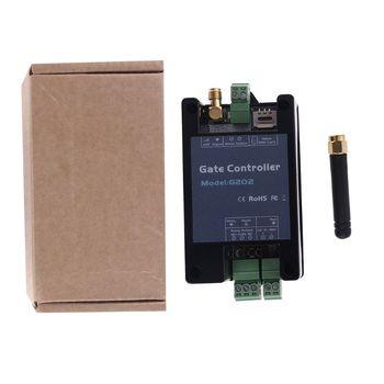 2G sterownik GSM do otwierania bramy łącznik przekaźnikowy maszyna przemysłowa przełącznik kontroler dostępu gadżety do konsole do gry tanie i dobre opinie CN (pochodzenie) app 8x4 9x3cm 3 15x1 93x1 18in Q6PA1AA802100