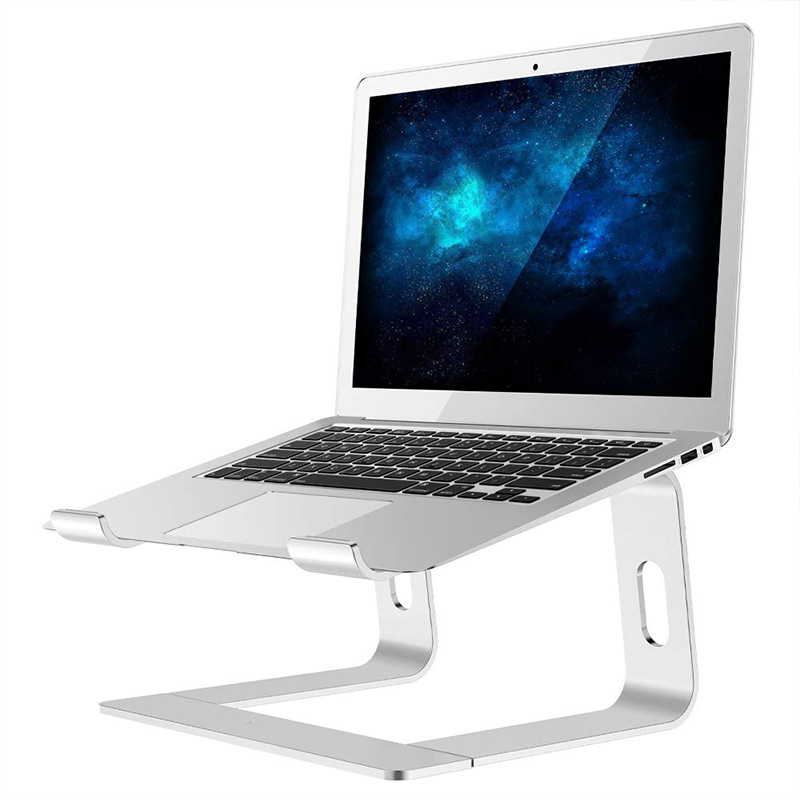 Laptop Stand Ergonomic Aluminum Stand, Detachable Laptop Lift Notebook Stand Bracket Compatible for MacBook Air Pro for Dell XPS image