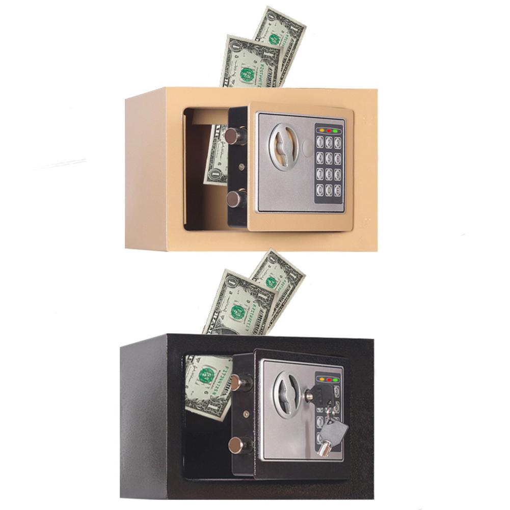 Electronic Piggy Bank ATM Password Money Box Cash Coins Saving Box ATM Bank Safe Box Automatic Deposit Banknote Christmas Gift