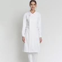Plus Size Nursing Dresses Medical Scrub Uniform SPA Nurse Uniforms Summer Premium Fabric Nurses Uniform Dresses
