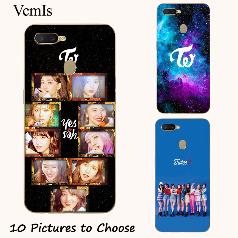 Twice momo Sana Mina Tzuyu silicone Painting Case For Oppo Realme C1 C2 U1 1 2 3 Pro X Lite Mobile Phone Printed Cover