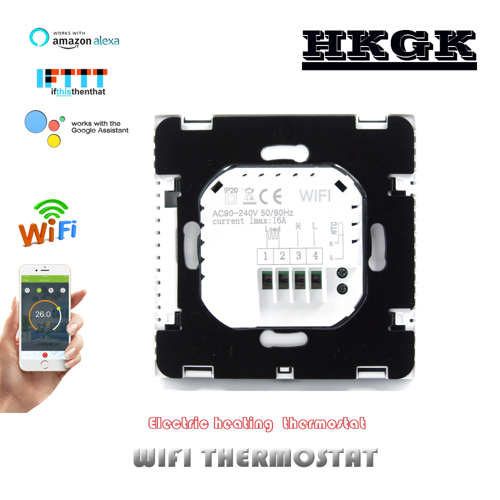 16A Electric Heating  WIFI Room Thermostat
