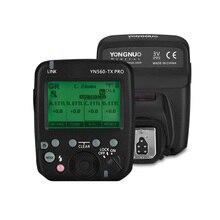 Беспроводная вспышка YONGNUO YN560 TX PRO 2,4G для камеры Canon DSLR YN862/YN968/YN200/YN560 Speedlite