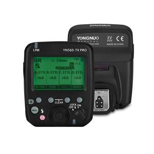 Image 1 - YONGNUO YN560 TX PRO 2.4G On camera Flash Trigger Wireless Transmitter for Canon DSLR Camera YN862/YN968/YN200/YN560 Speedlite