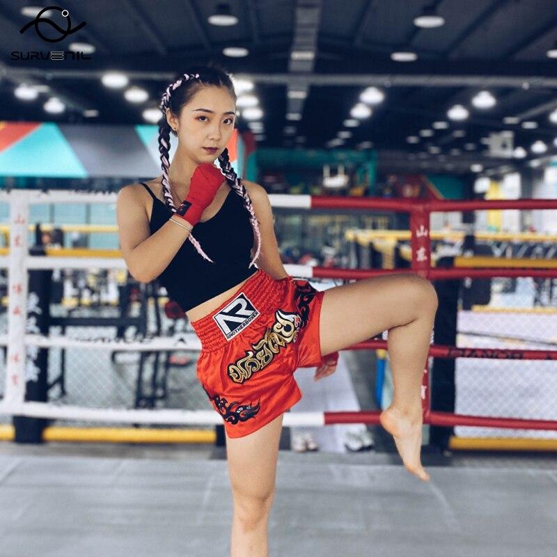 Купить шорты для тайского бокса профессиональные боксерские костюмы