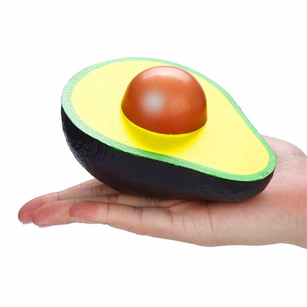 Squishies סימולציה אבוקדו איטי עולה קרם ריחני לסחוט אנטי סטרס משכך מצחיק צעצועי שחרור לחץ רטוב צעצועי מתנות