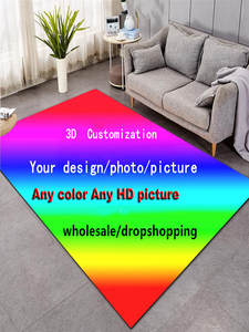 Carpet Area-Rugs Large-Mats Bedroom Customized Living-Room Your-Photo/Picture Home 3d-Printed