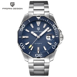 2019 новый бренд PAGANI Дизайн 1617 мужские военные спортивные механические часы водонепроницаемые из нержавеющей стали топ брендовые Роскошные ...