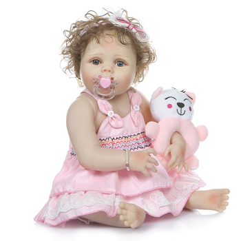 2020 New Hot Sale 56cm 22 inch Born Reborn Doll Baby Simulation Doll Reborn Doll For Baby Birthday Doll Toy warkings reborn