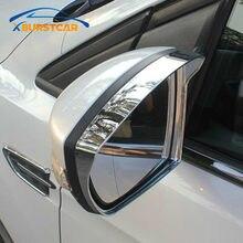 Estilo do carro espelho retrovisor capa chuva escudo viseira para ford ecosport 2012 - 2019 kuga escape 2014 - 2019 auto acessório