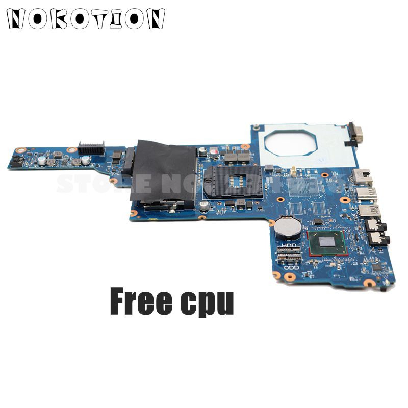 NOKOTION 685783-501 685783-001 For HP CQ45 <font><b>450</b></font> 1000 2000 Laptop Motherboard HM70 UMA HD DDR3 free cpu image