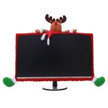 Рождественский Декор стерео мультфильм компьютерный чехол нетканые рождественские аксессуары Рождественский подарок Navidad год
