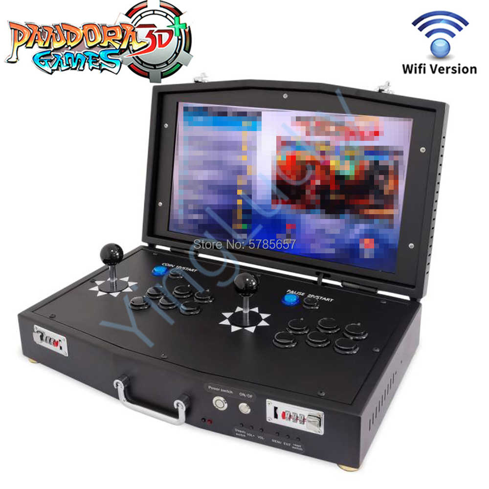 18.5 inch arcade console pandora box 3d wifi 4018 in 1 IPS HD ...