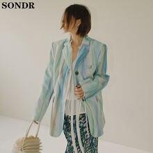 2020 Корейская Высокая мода куртки пальто Женский пастельный