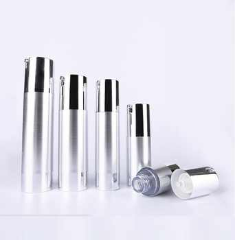 30ml UV  silver  airless vacuum pump lotion bottle with silver pump silver bottom base  used for Cosmetic Container - DISCOUNT ITEM  0% OFF All Category