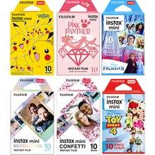Fujifilm Instax Mini Film en option cadre Photo 10 feuilles papier Photo pour Instax Mini 11 9 Mini 8 instantané Mini 70 90 Film appareil Photo