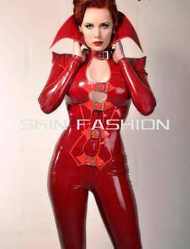 送料無料!! 新着ファッション女性セクシーな胸キャットスーツラテックス拘束 - DISCOUNT ITEM  13% OFF ノベルティ & 特殊用途