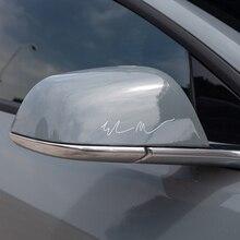 vxvb 2021 Model3 For Tesla Model S 3 X Y Accessories Creative Auto Stickers Automobile Decals Elon Musk Signature Car Sticker