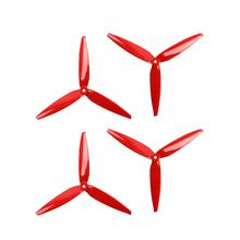 2 Pairs Gemfan 7040 7inch 3 paddle Propeller Props with 5mm Mounting Hole for 2206-2407 Brushless Motor for FPV RC Racing Drone
